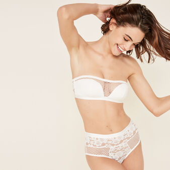 Tymaiz white high-waist briefs white.