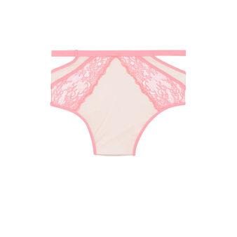 Larosiz pink high-waisted briefs pink.