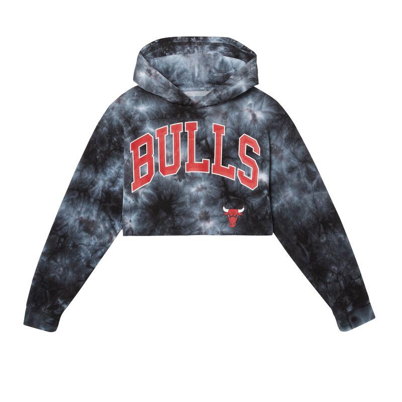 krótka bluza smoke chicago bulls — czarna;