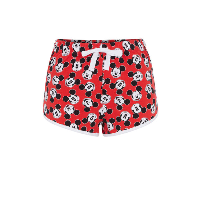 Plumickiz red shorts;