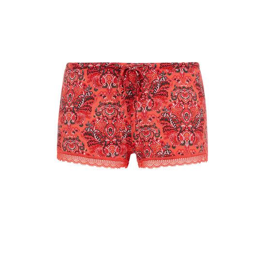 Vifleuriz coral shorts;
