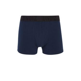 Idealiz blue boxers blue.