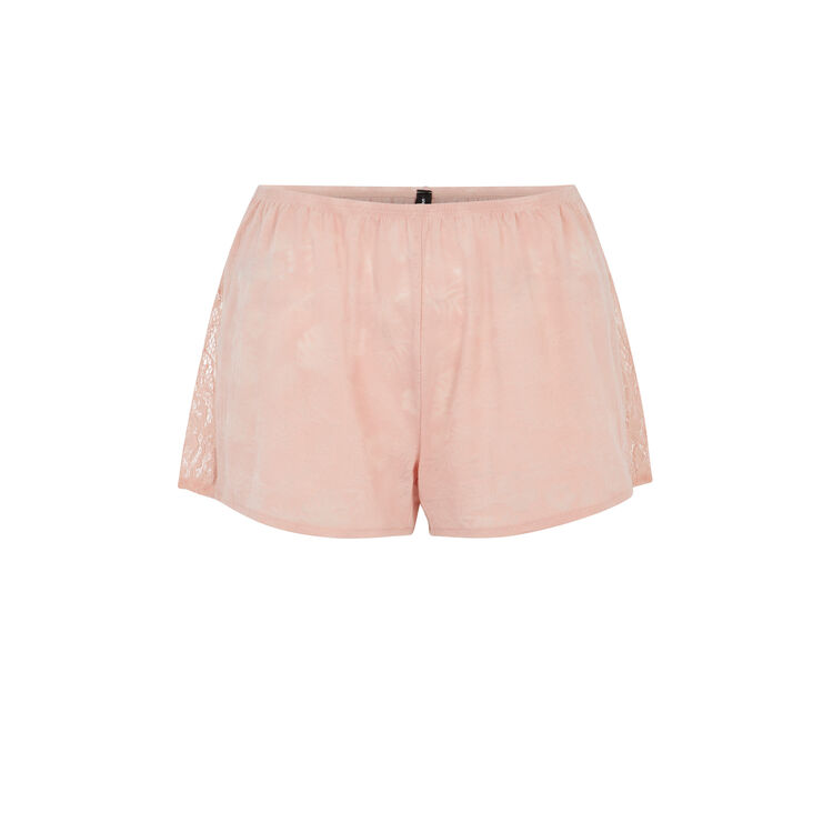 Tropaliz pink shorts;