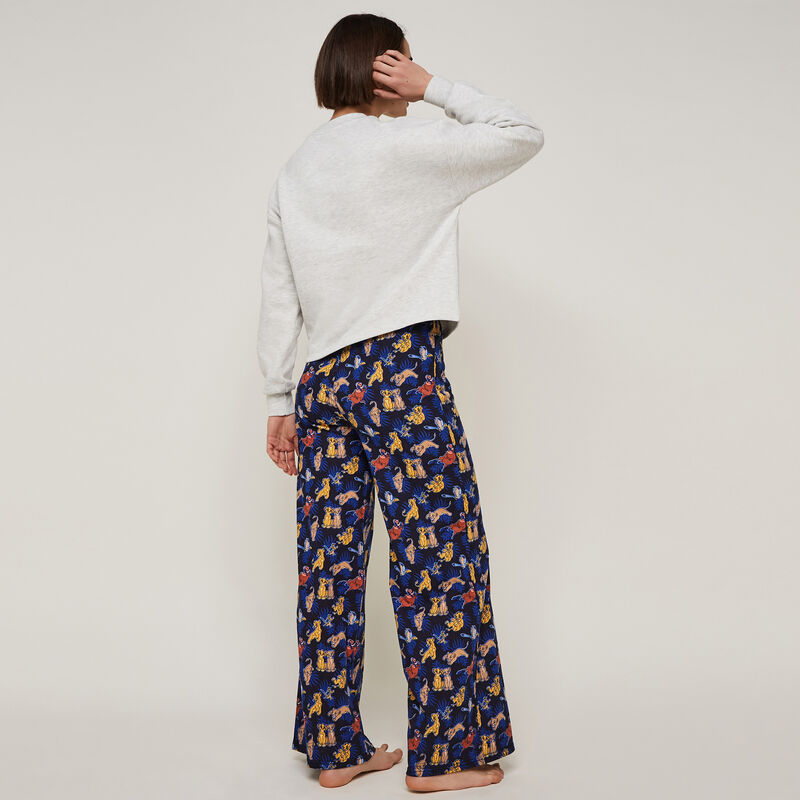 Simbaliz wide-leg trousers with print;