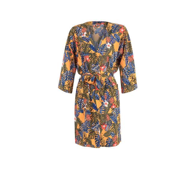 Оранжевое кимоно casablankiz;