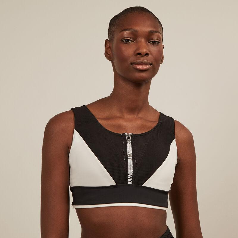 Sports bra - black ;