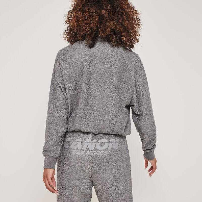 Canondesneigiz reflective fleece jogging bottoms;