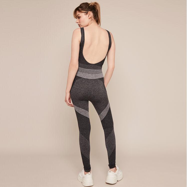 Sport-Jumpsuit ohne Nähte seamblockiz;