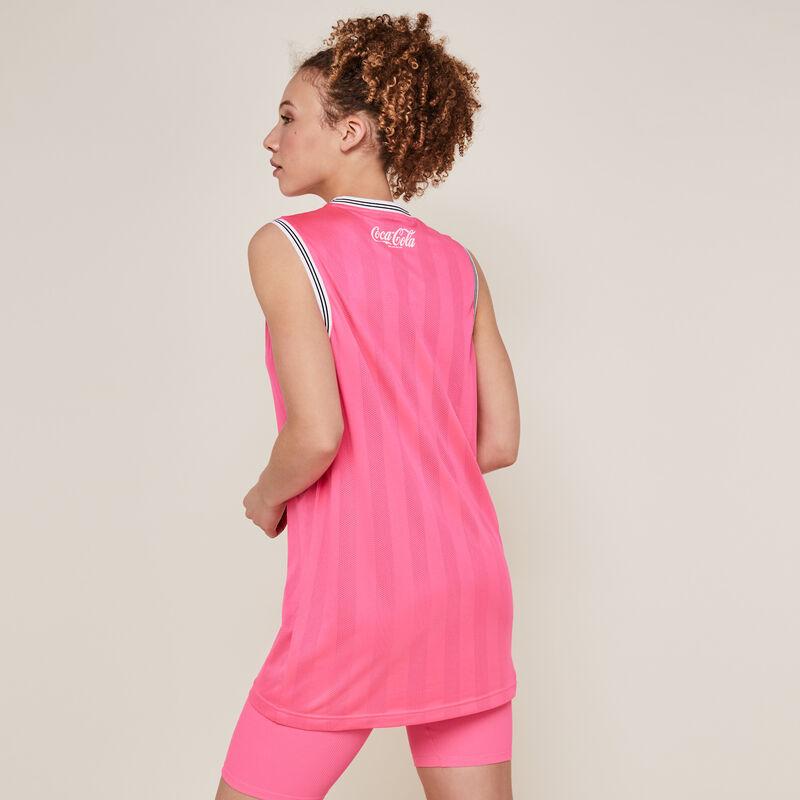 Шорты-велосипедки из джерси - флуоресцентный розовый;