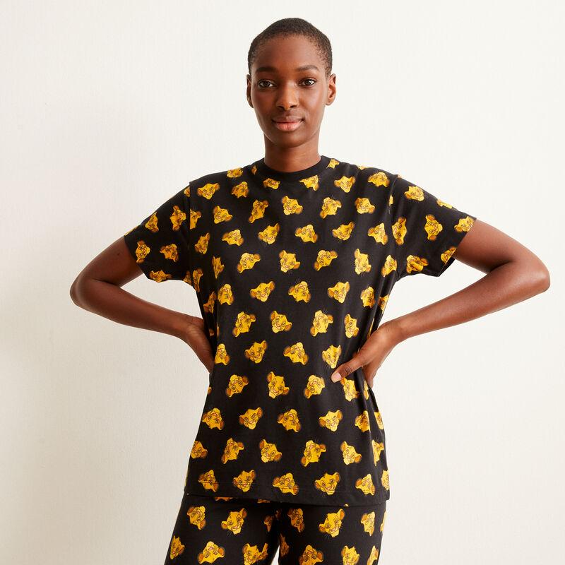 top ze wzorem Simby — kolor czarny;