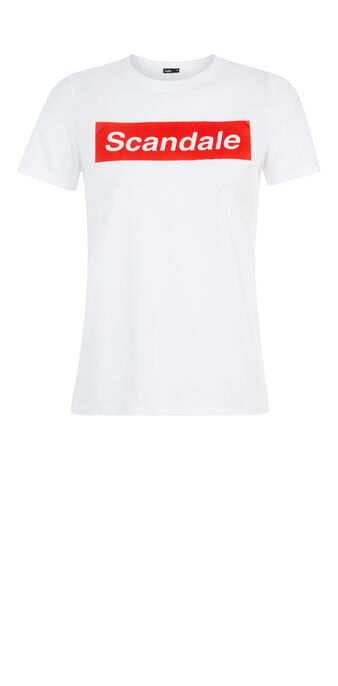 Top blanc surdouiz white.