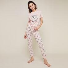 Бледно-розовые спортивные брюки gatiz pink.