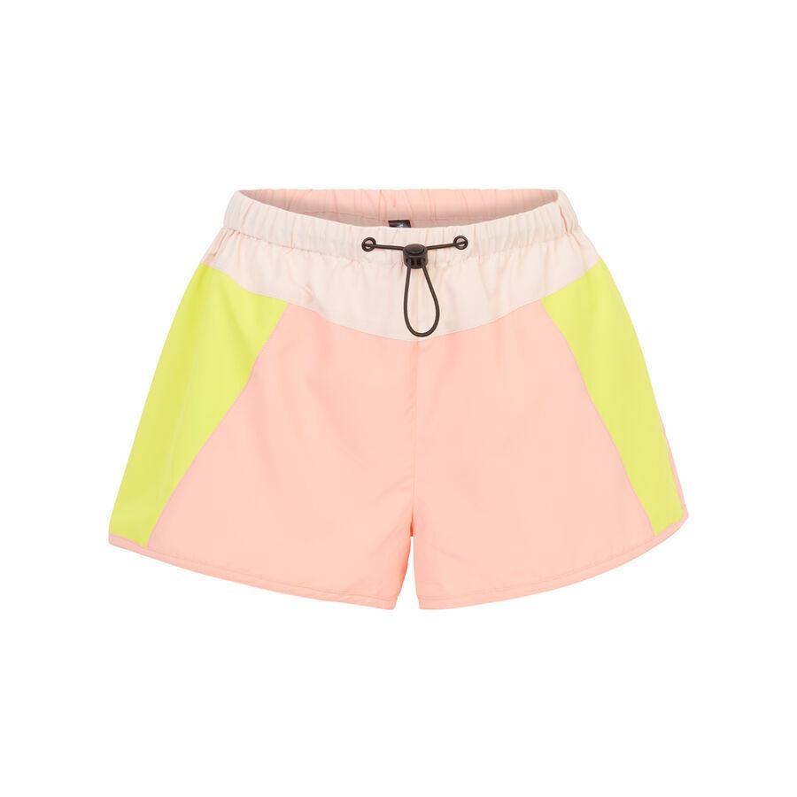 Лососево-розовые шорты shortoiz;