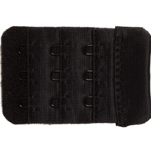 Extendiz black 3-hook bra extender