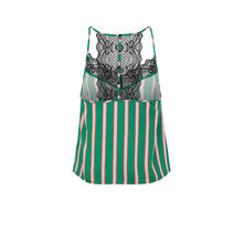 Mignoniz emerald green top. green.