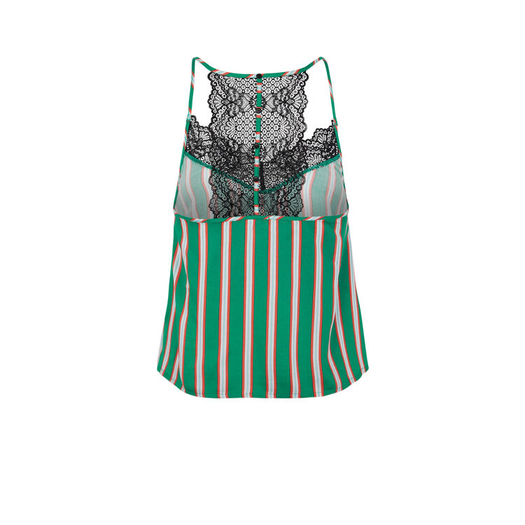 Mignoniz emerald green top.;