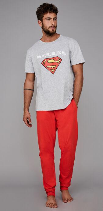 Graues pyjama-set für herren needsiz grey.