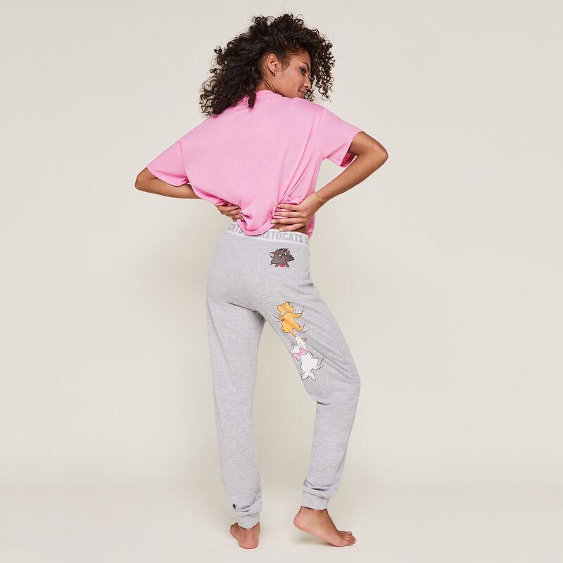 aribetiz the aristocats print pants;