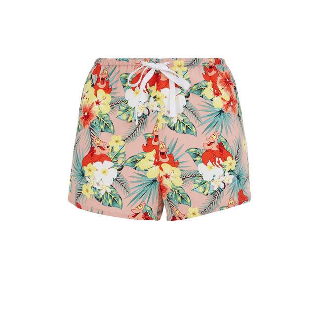 Crabiz pale pink shorts;