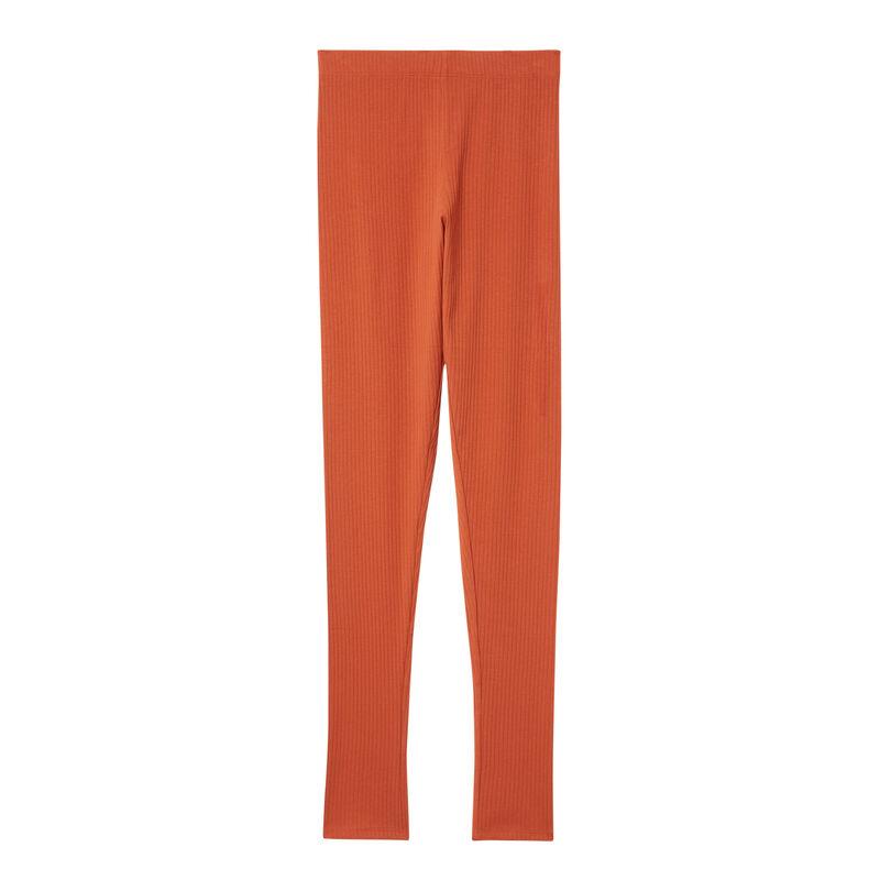 plain leggings - camel;