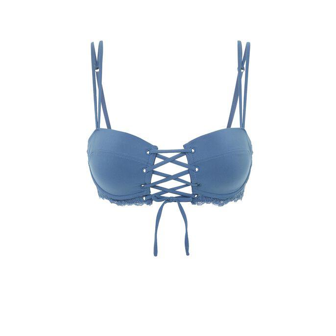 Balcominiz blue bra blue.