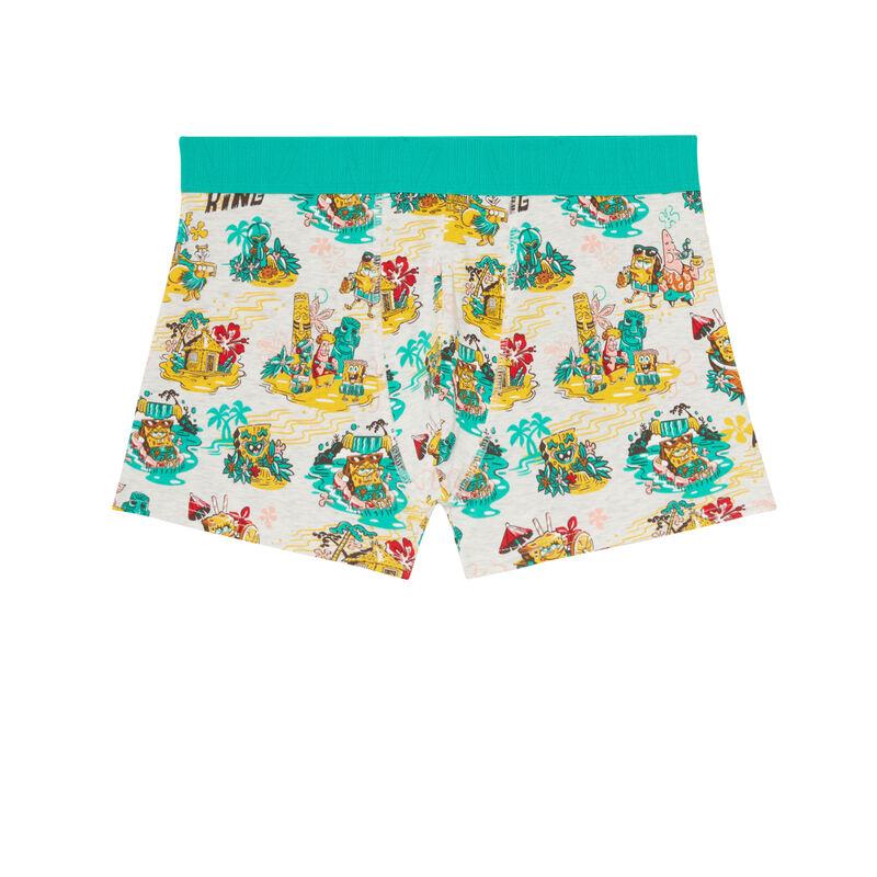 SpongeBob cotton boxers - ecru;