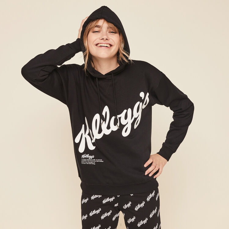 Kellogiz branded Kellogg's hooded sweatshirt;