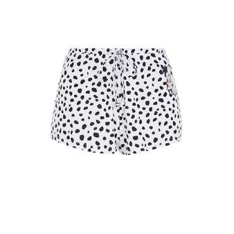Cruelaiz white shorts white.