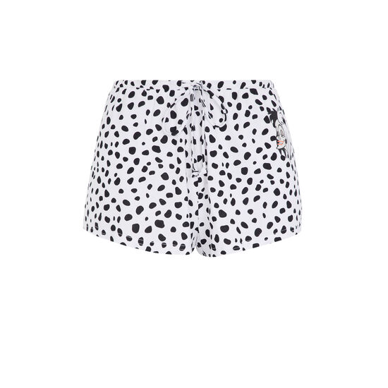 Cruelaiz white shorts;