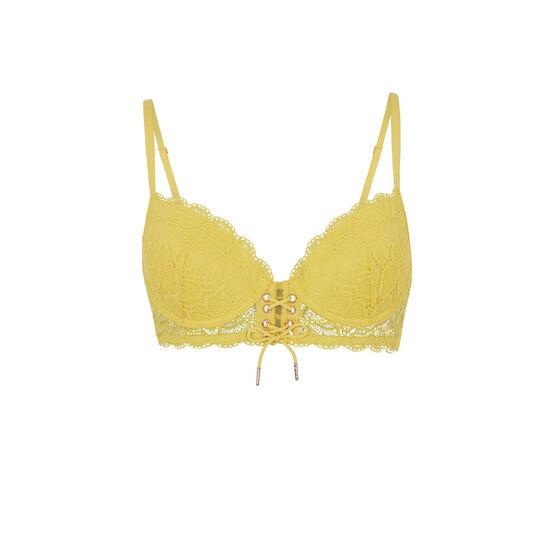 Soutien-gorge bustier ampli jaune sherifiz;