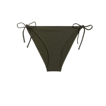 Exotiz khaki triangle bikini top green.