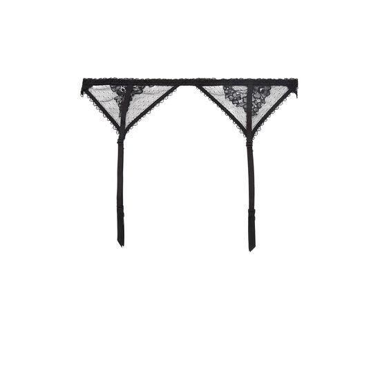 Obsidieniz black garter belt;