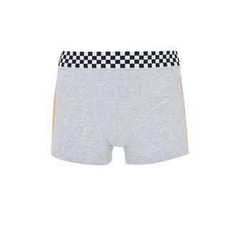Flamoiz grey boxer shorts grey.
