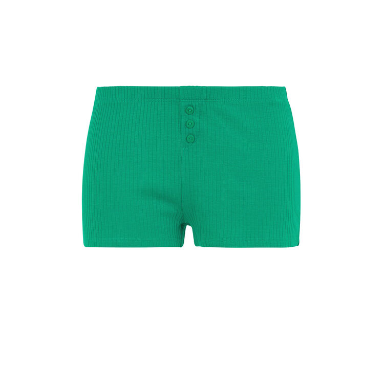 Newdebidiz emerald green shorts;