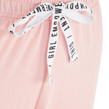 Pink nanabelliz pants pink.