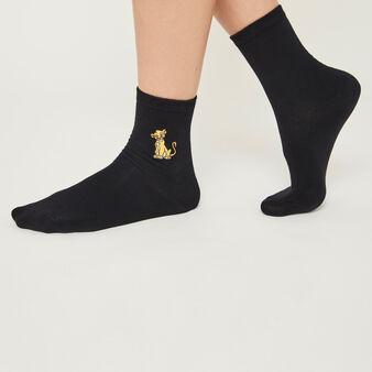 Черные носки lionkingiz black.