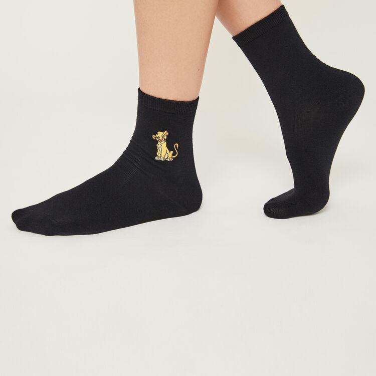Черные носки lionkingiz;
