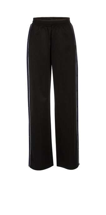 Pressioniz black trousers  black.