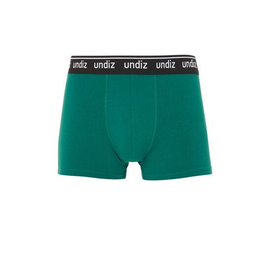 Chagardiz green cotton boxers;