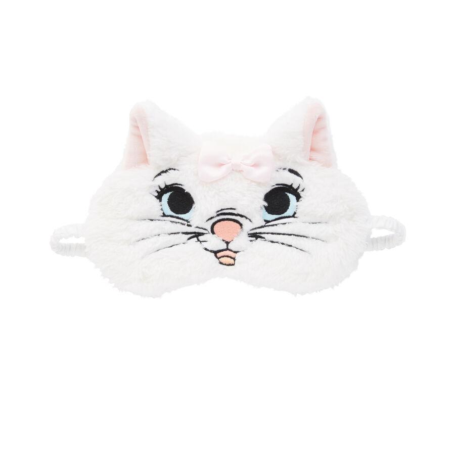 Белая маска для сна supermariz;