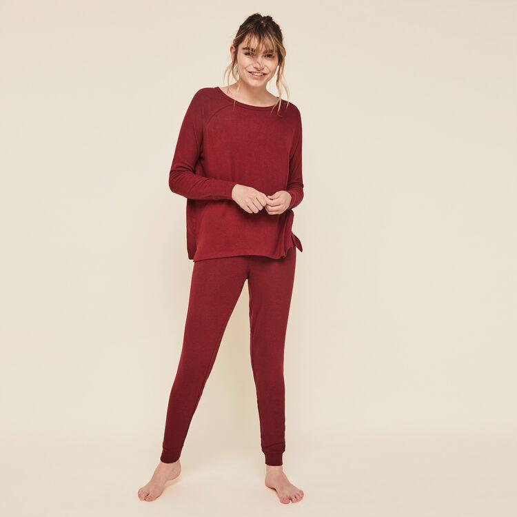 Quodiz brushed fleece pants;