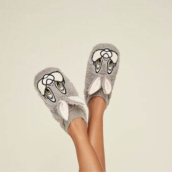 Lapiliz grey slippers grey.