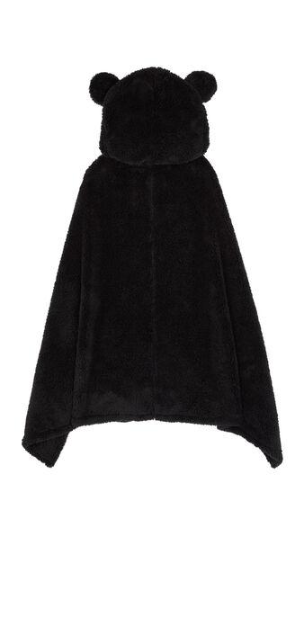 Cutemiz black poncho black.