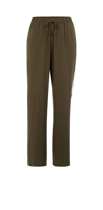 Pantalon vert kaki wixiz green.