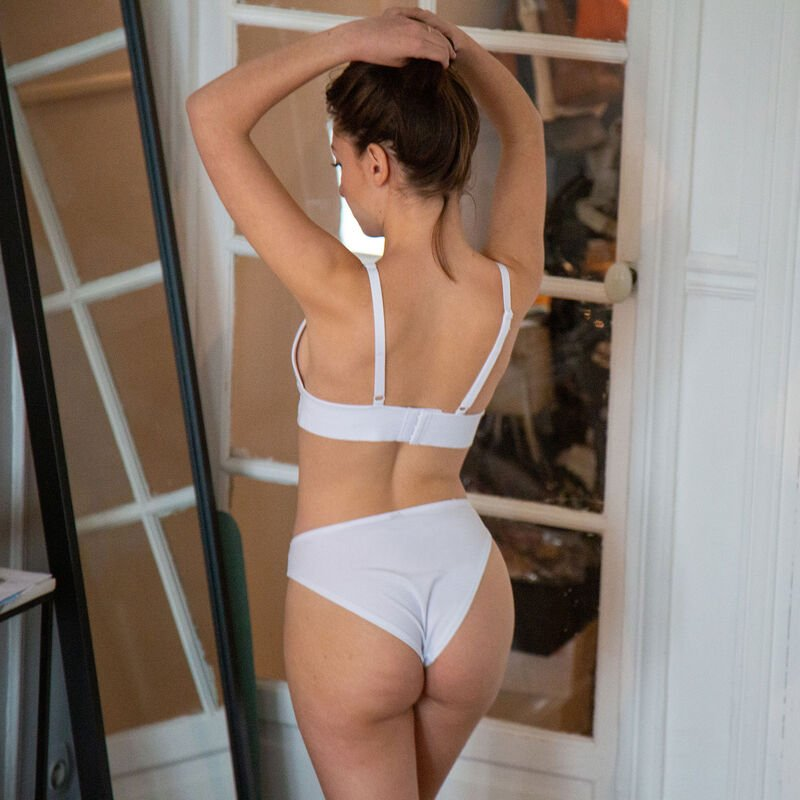 knickers designed to make you happy - white;
