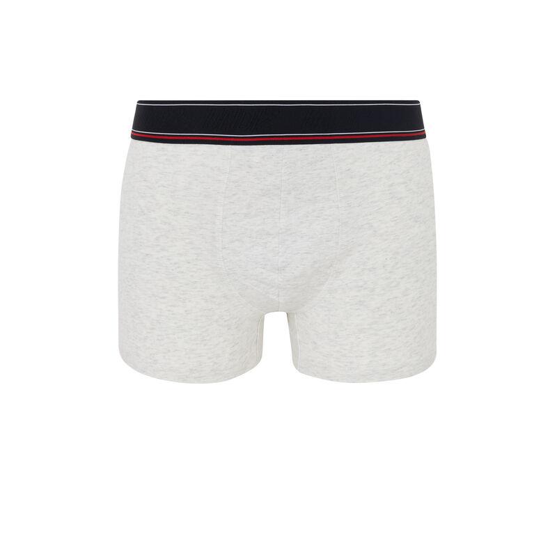 Beauteiz cotton boxers with slogan;