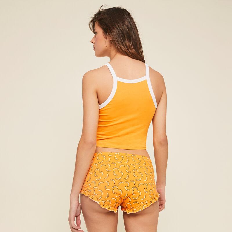 Burriquiniz ochre shorts;