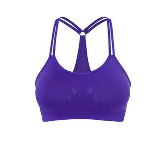 New swimiz purple sports bra purple.