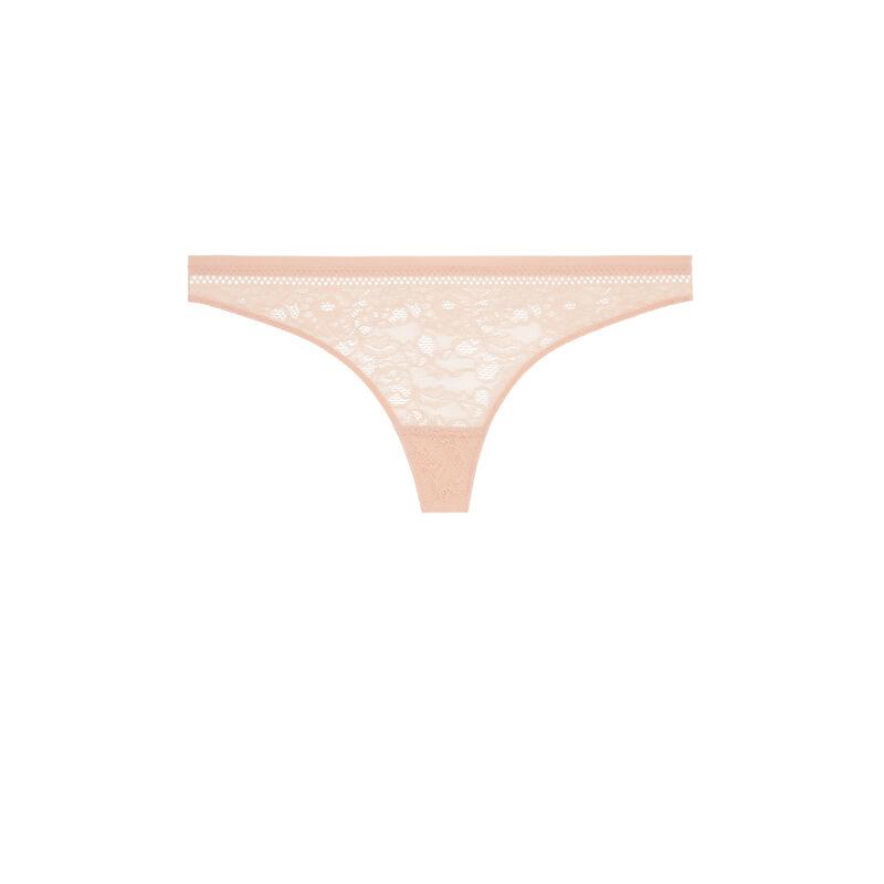 Revoltiz lace thong;