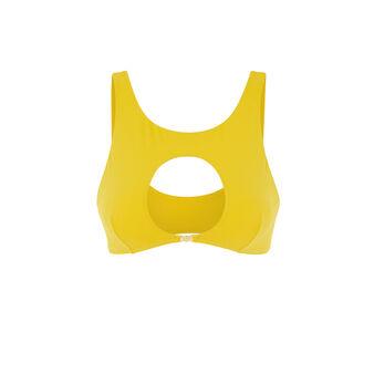 Желтый верх купальника barockiz желтый.